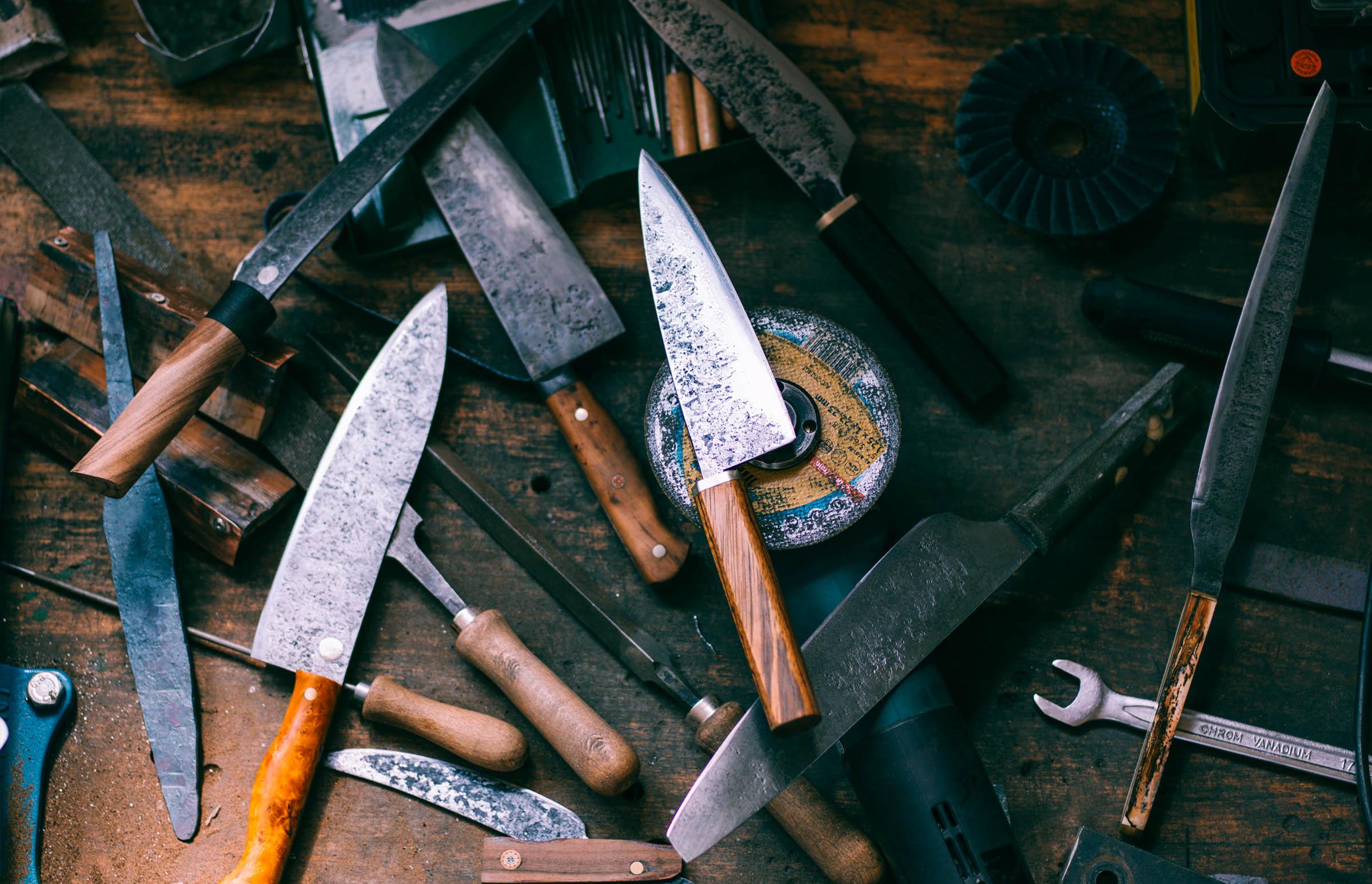 Lieblingsmesser - die Kunst des Messerschmiedens