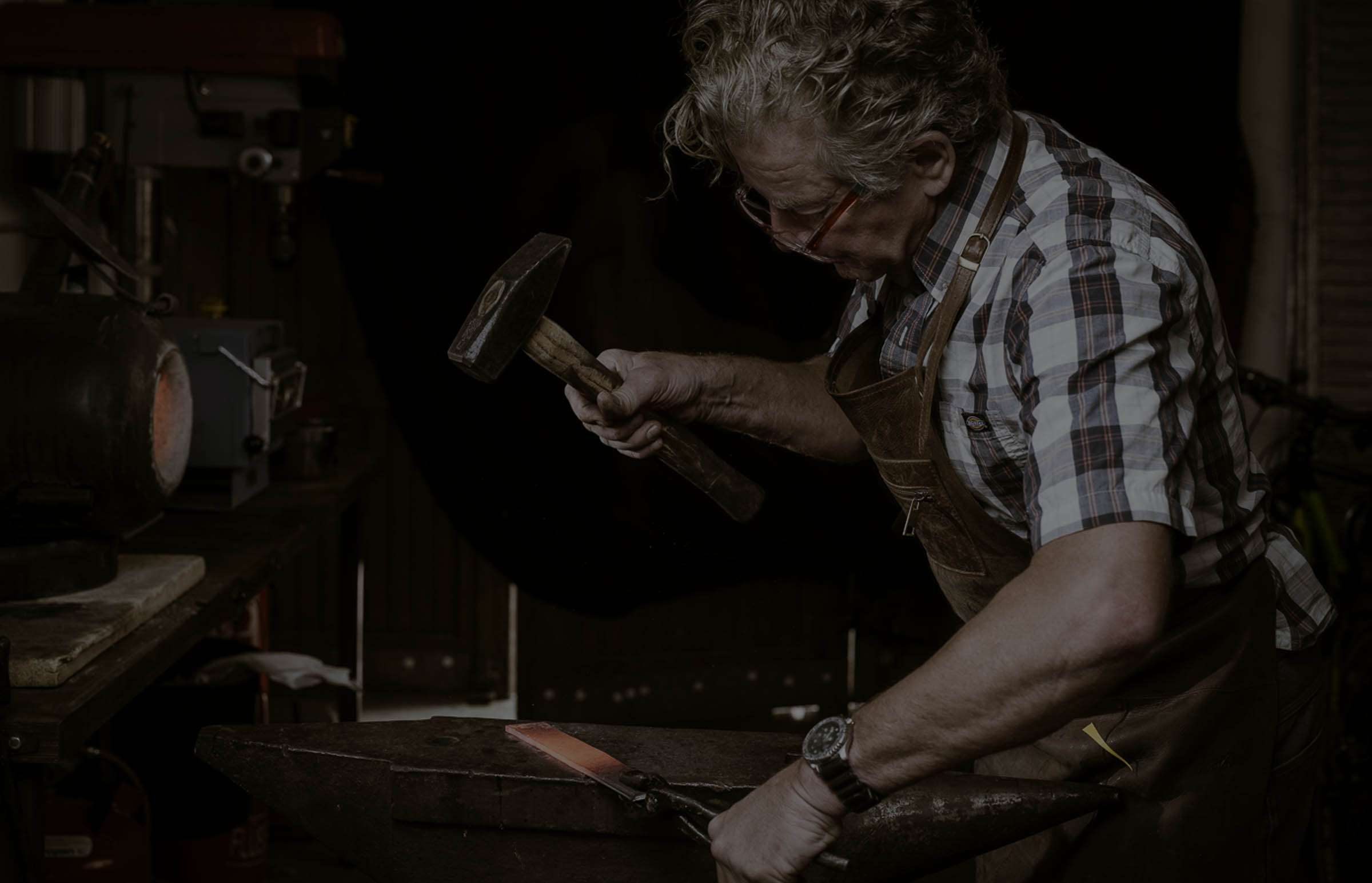 Schmieden eines Messers